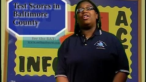 Thumbnail for entry Cesapeake High School News Test Scores