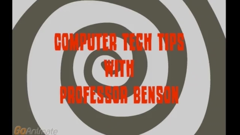 Thumbnail for entry Computer Tech Tips