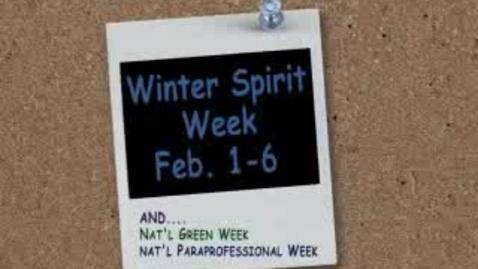Thumbnail for entry Spirit Week - Version 2