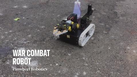 Thumbnail for entry War Combat Robot
