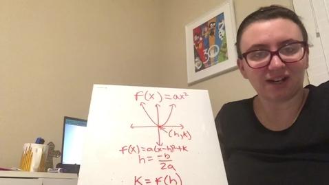 Thumbnail for entry Quadratics part 5
