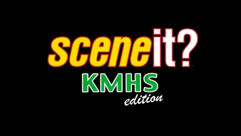 Thumbnail for entry Scene It!  KMHS Edition
