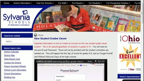 Thumbnail for entry PowerSchool Overview Video
