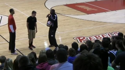 Thumbnail for entry Harlem Wizards - SNHS Convocation