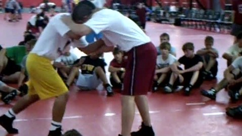 Thumbnail for entry Wrestling Regionals Pontiac 07 60