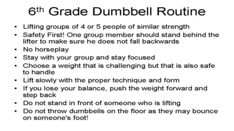 Thumbnail for entry Intro to Dumbbell Routine