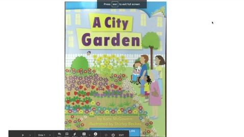 Thumbnail for entry A City Garden