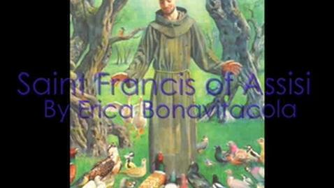 Thumbnail for entry Saint Francis of Assisi