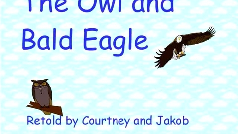 Thumbnail for entry The Owl and the Bald Eagle