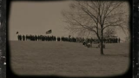 Thumbnail for entry 8th Grade Civil War Reenactment 2013