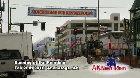 Thumbnail for entry Running of the Reindeer 2010
