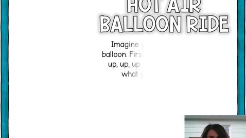 Thumbnail for entry Hot Air Balloon Ride