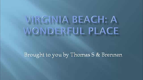 Thumbnail for entry Virginia Beach Lesson PT