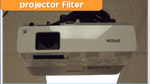 Thumbnail for entry How-To Clean Your Projector Filter