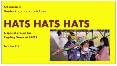 Thumbnail for entry AL#5 HATS HATS HATS