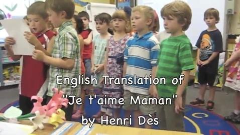 Thumbnail for entry Maman je t'aime - Henri Dès