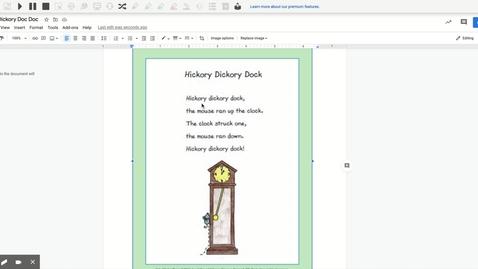 Thumbnail for entry Hickory Dickory Doc Doc - Google Docs
