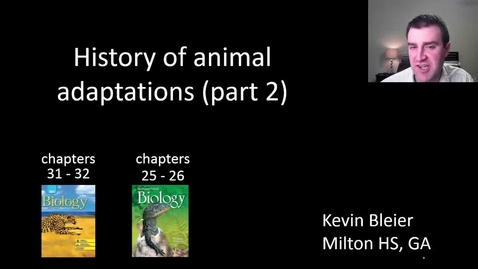 Thumbnail for entry Animal evolutionary history (part 2 of 2)