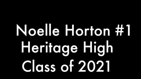 Thumbnail for entry Noelle Horton #1