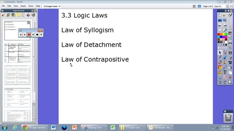 Thumbnail for entry 3.3 Logic Laws