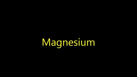 Thumbnail for entry Tristan Torres-Magnesium