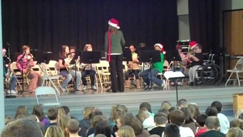 Thumbnail for entry Holiday concert 2