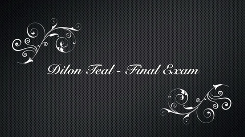 Thumbnail for entry Final Exam