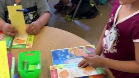 Thumbnail for entry ELA 1st Grade- Student Team Talk- Literary Elements