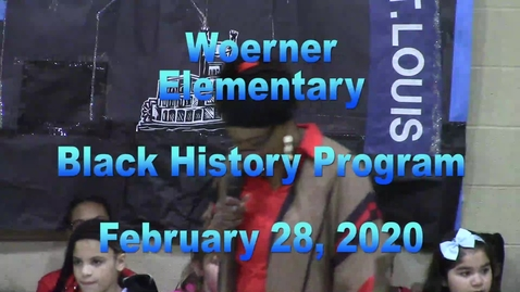 Thumbnail for entry Black History Program - February 28, 2020