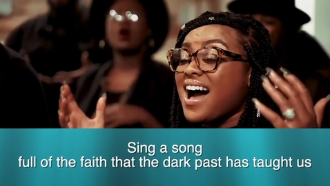 """Thumbnail for entry Kirk Franklin - """"Lift Every Voice And Sing"""" with Lyrics"""