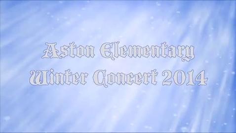 Thumbnail for entry Aston Winter Concert 2014