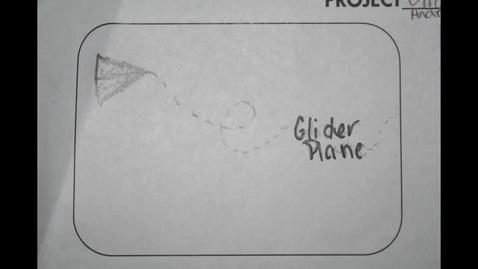 Thumbnail for entry Glider Plane by Ashley Elliott