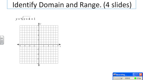 Thumbnail for entry square root graphs