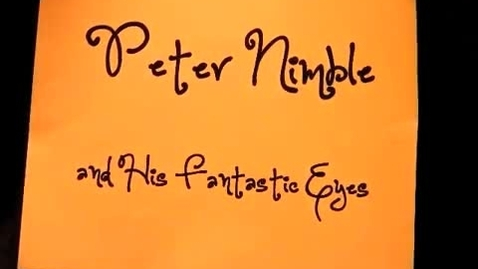 Thumbnail for entry Peter Nimble Book Commercial by Nick