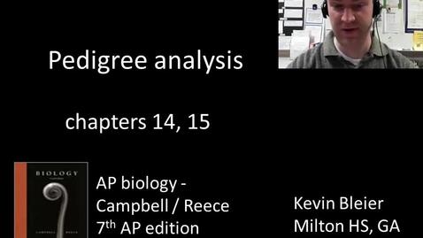 Thumbnail for entry Pedigree analysis in inheritance