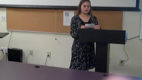Thumbnail for entry Makayla Roberts Final Speech