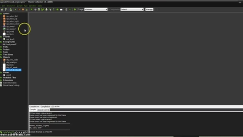 Thumbnail for entry GameMaker Studio: Create Application (exe) and Share in the Sandbox