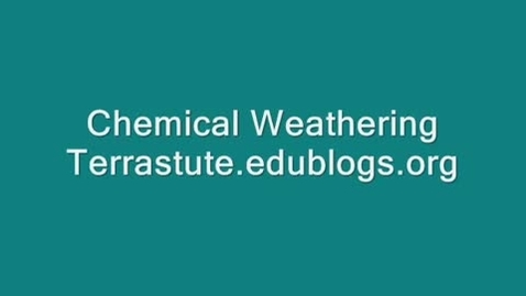 Thumbnail for entry Chemical weathering-acid rain