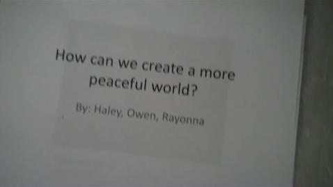 Thumbnail for entry Peace Paperslide - Mr. Kessler 10