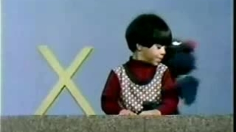 Thumbnail for entry Classic Sesame Street - Letter X secret