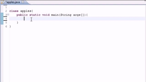Thumbnail for entry Java Programming Tutorial - 10 - If Statement