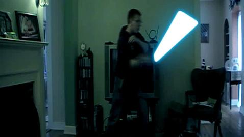 Thumbnail for entry Light Saber (test 1)