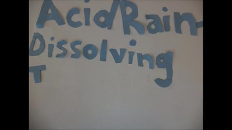 Thumbnail for entry ACID RAIN DISSOLVING THE FUTURE