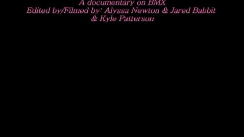 Thumbnail for entry BMX Documentary