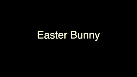 Thumbnail for entry Easter Bunny Drawing