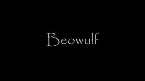 Thumbnail for entry Beowulf, Robert Nye, Book Trailer