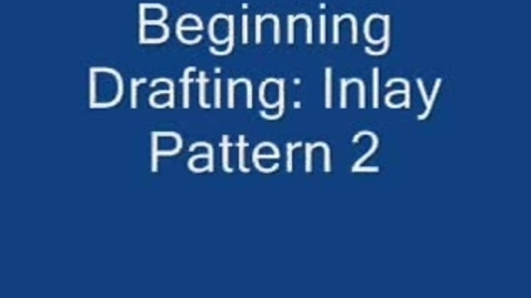 Thumbnail for entry Beginning Drafting: Inlay Pattern 2