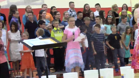 Thumbnail for entry Rock Ledge Fifth Grade Spring Music concert  - part 3