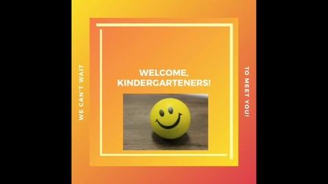 Thumbnail for entry Kindergarten Registration