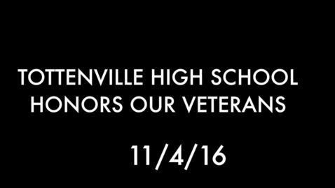 Thumbnail for entry Veteran's day 2016